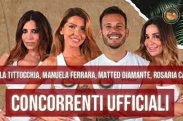 """Isola dei Famosi, Matteo Diamante fa piangere Manuela Ferrera: """"Ha fatto bruciare il riso"""""""