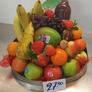 Fruitmand lux 27,50
