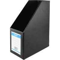 ZBA4013-10 - Bantex Magazine Holder A4 PVC 115mm Black ...