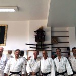 Group in the dojo