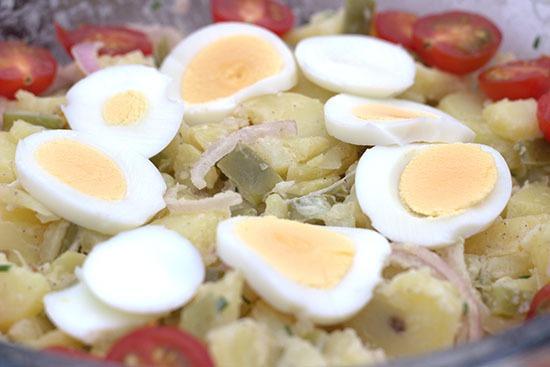 Simpele aardappelsalade