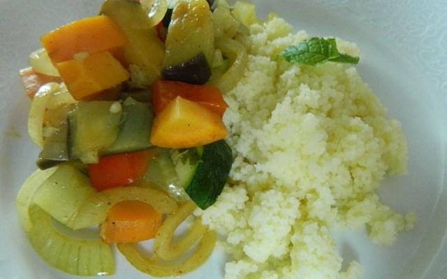 Couscous met Ras-el-Hanout groente