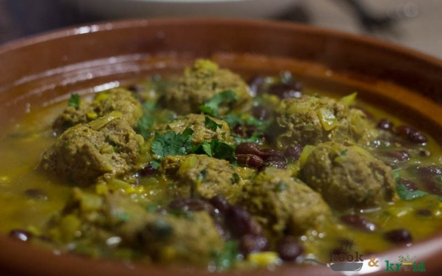 Pittige gehaktbal met couscous