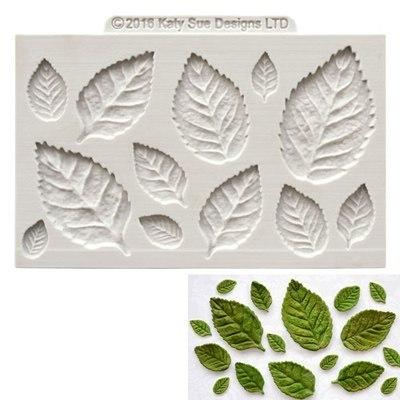 moule pate a sucre feuilles