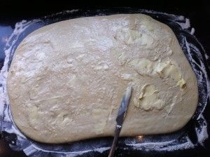 Boter uitsmeren