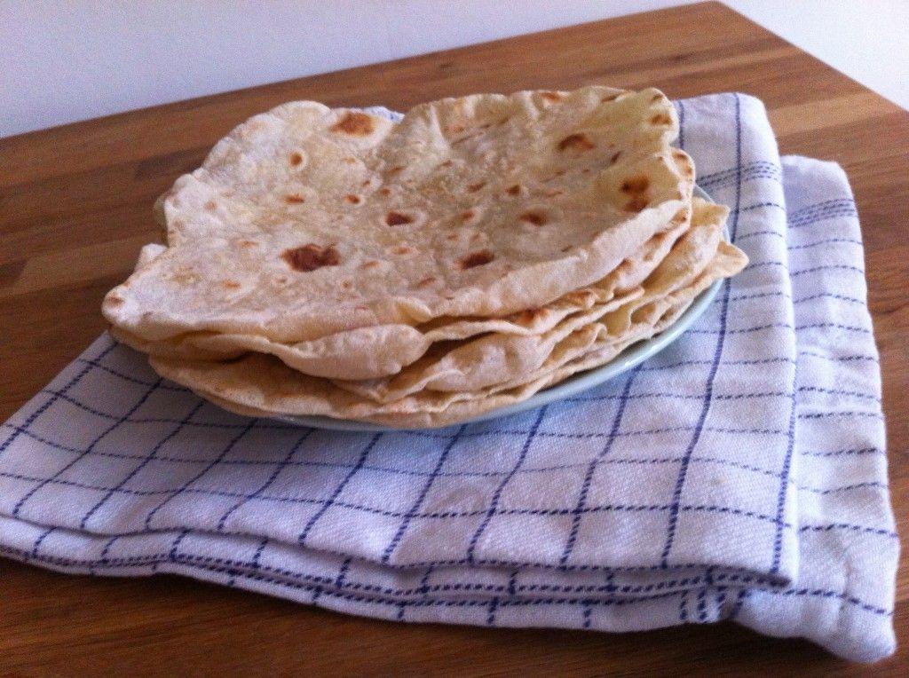 zelf tortillas maken