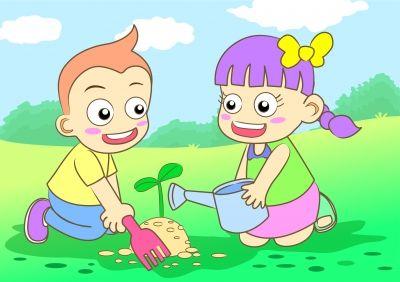 Koken uit eigen tuin met kinderen