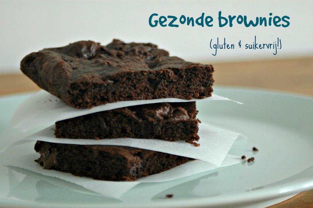 gezonde brownies glutenvrij suikervrij