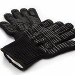 Hittebestendige handschoenen voor de barbecue