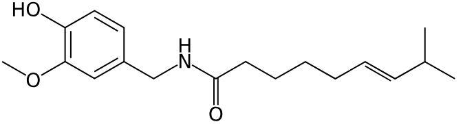 pittig eten kan door capsaïcine worden veroorzaakt