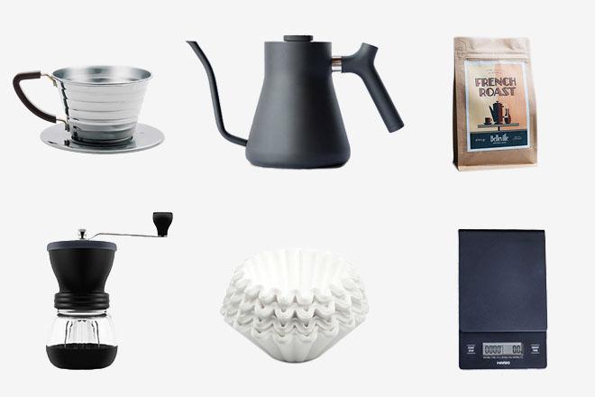 Comment faire un bon café filtre - le matériel