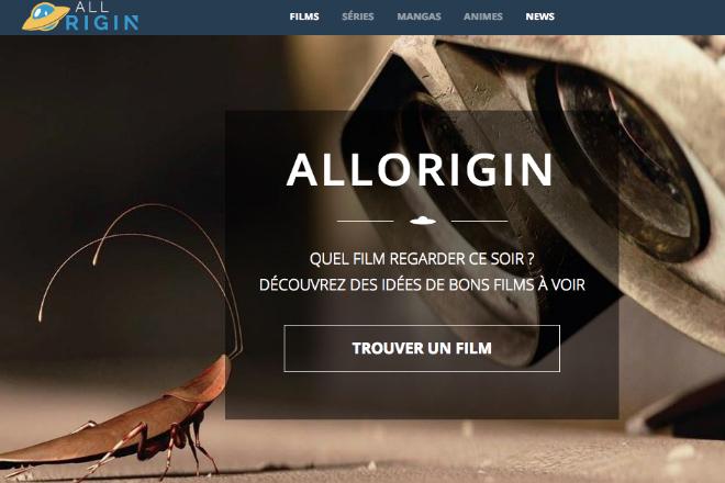 Quel film regarder - Trouver un film avec AllOrigin