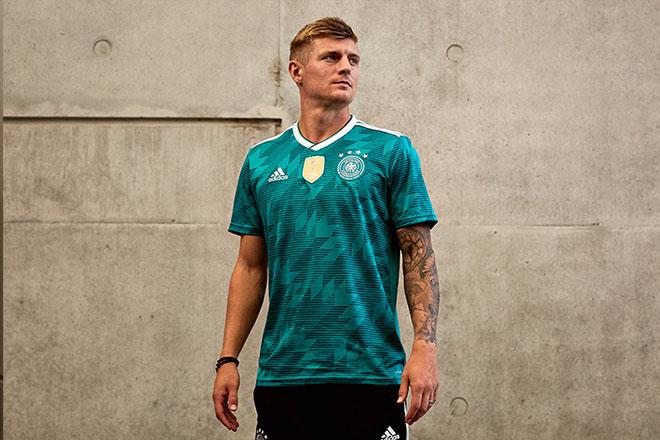 Allemagne - Maillot extérieur Coupe du Monde 2018