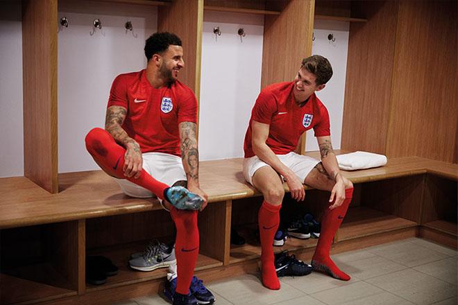 Angleterre - Maillot extérieur Coupe du Monde 2018