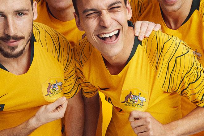 Australie - Maillot domicile Coupe du Monde 2018