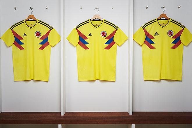 Colombie - Maillot domicile Coupe du Monde 2018