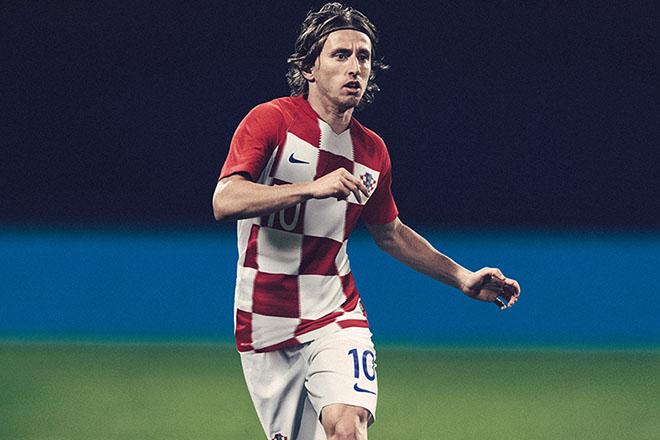 Croatie - Maillot domicile Coupe du Monde 2018