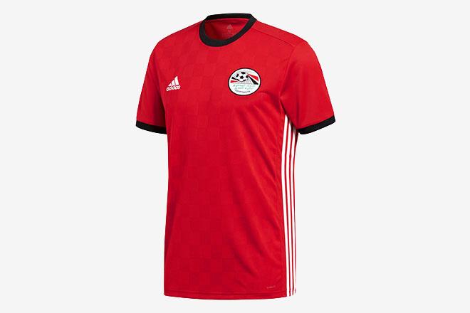 Egypte - Maillot domicile Coupe du Monde 2018