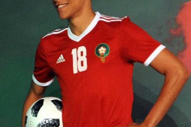 Maroc - Maillot domicile Coupe du Monde 2018