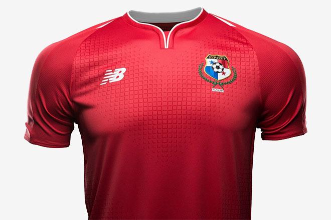 Panama - Maillot domicile Coupe du Monde 2018