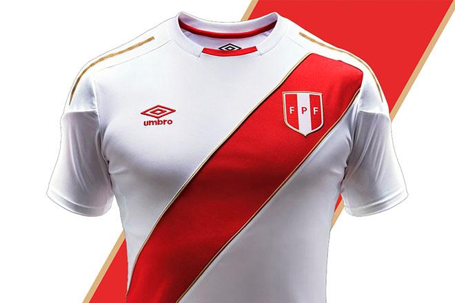 Pérou - Maillot domicile Coupe du Monde 2018