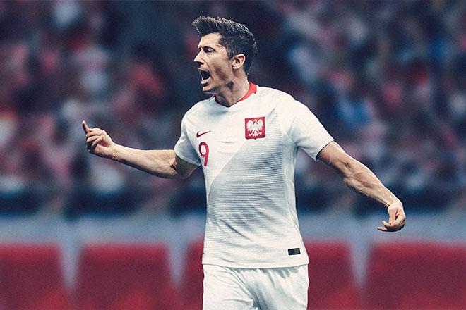 Pologne - Maillot domicile Coupe du Monde 2018