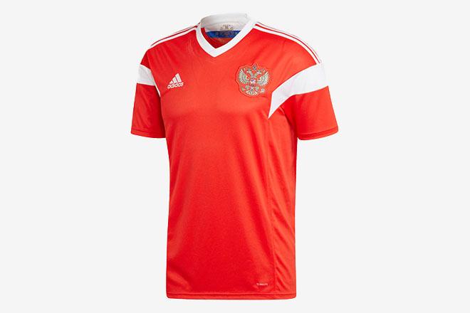 Russie - Maillot domicile Coupe du Monde 2018