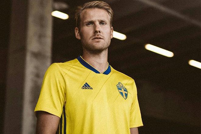 Suède - Maillot domicile Coupe du Monde 2018