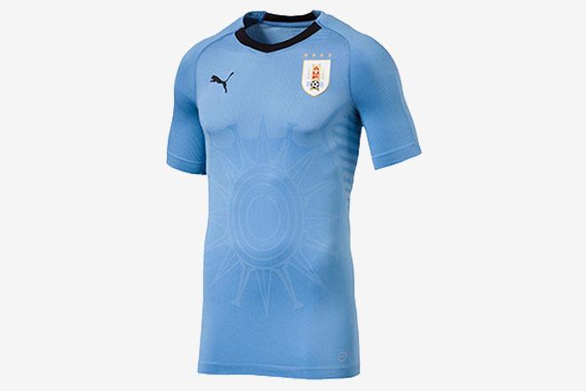 Uruguay - Maillot domicile Coupe du Monde 2018