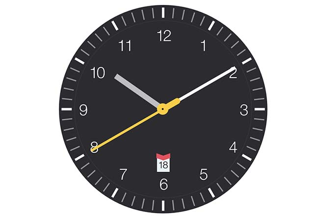 Economiseur d'écran Mac - Clock Saver
