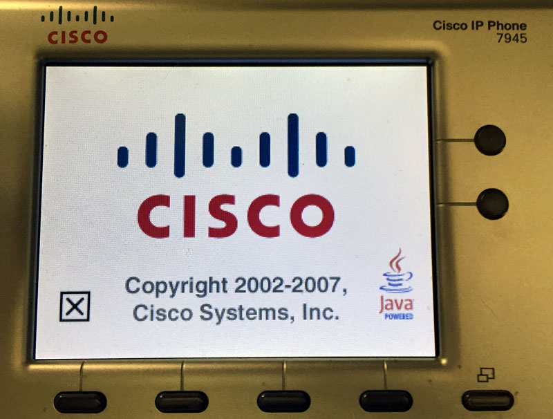 3 steps to really reset a Cisco 7900 Phone
