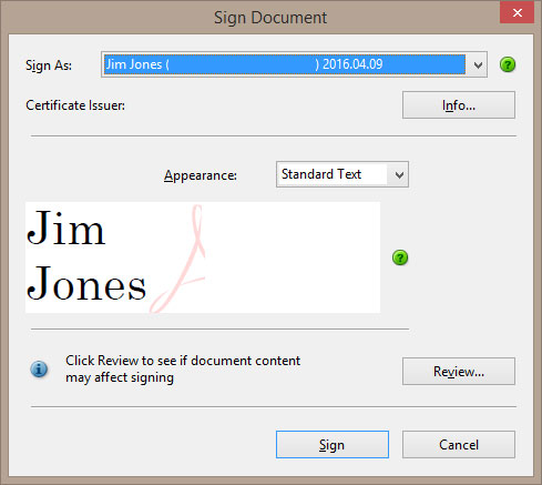 Support Adobe Digital ID Signing with Automated Microsoft CA User Certificate Generation