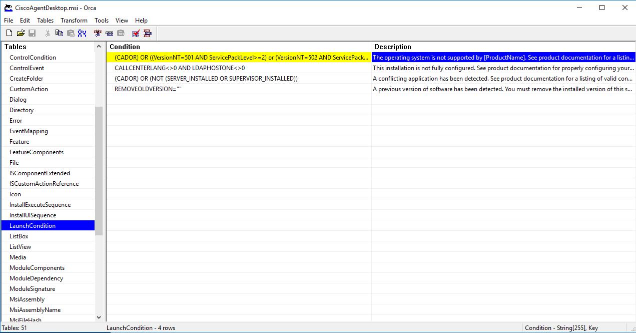 Upgrading Cisco Agent Desktop on Windows 10 -