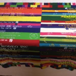Candice felft show ribbon quilt