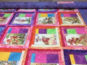 Mavis Bunt fairy quilt