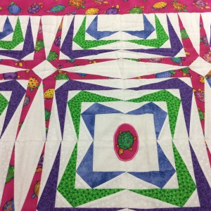 Janelle turtle quilt