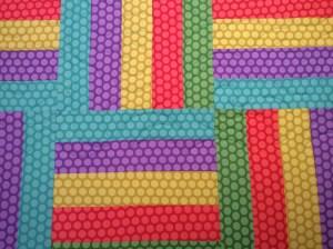 Deb's Swirls Kathy's quilt