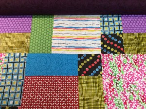 Kathy's Deb's swirls quilt