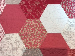 French Hexagon quilt