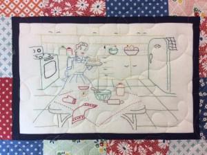 Stitchery quilt