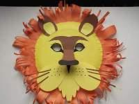 Craft Animal Paper Plate Masks