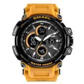 SMAEL 1708 Sports Watch Military Dual Display - Orange