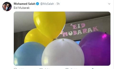 صور: نجوم كرة القدم والأندية حول العالم يهنئون المسلمين بالعيد 26