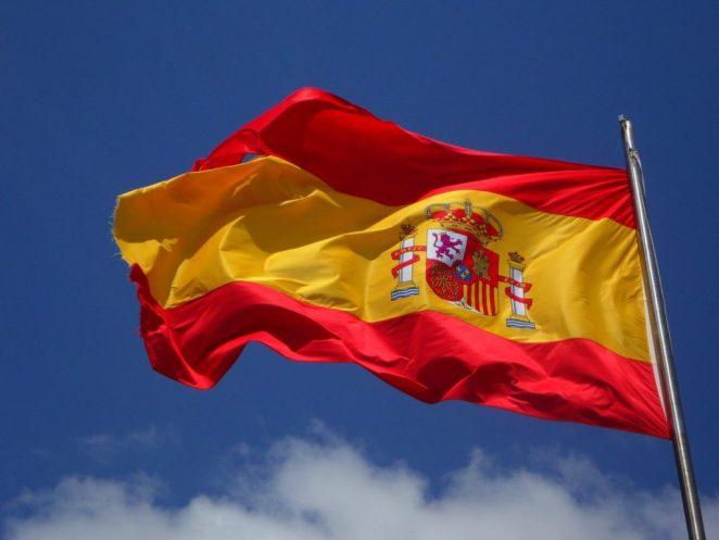 İspanya Bayrağı - Erasmus Staj