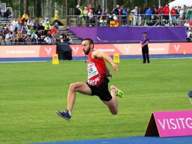 Genç Atlet Türk Atletizm Tarihinde Bir İlki Yaşattı