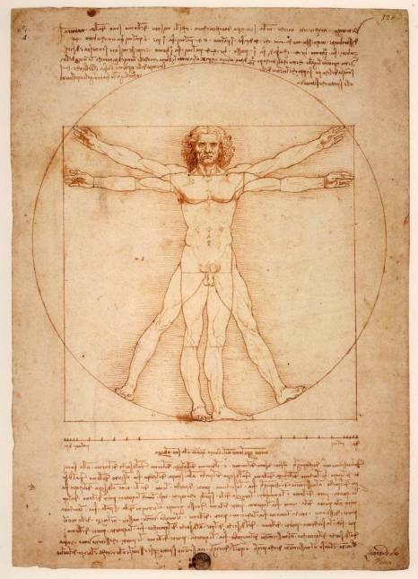 Rönesans'ın En Meşhur Eskizi: Vitruvian Adam