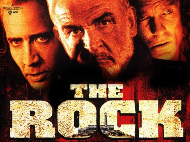 the rock afiş (1996)