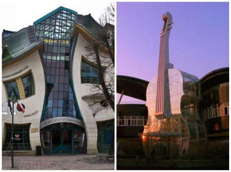 sıra dışa mimariye sahip yapılar