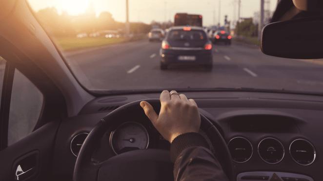araba trafik