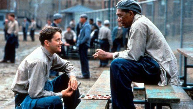 The Shawshank Redemption film sahnesi